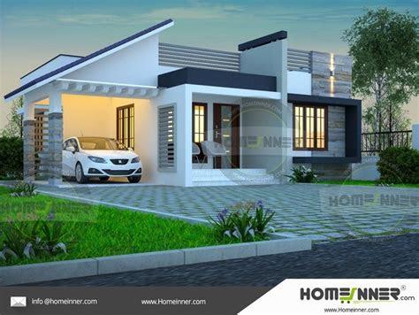 single story simple house elevation    house