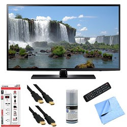 Samsung UN60J6200 - 60-Inch Full HD 1080p 120hz Smart LED HDTV Hook-Up Bundle