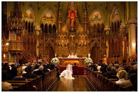 Montreal Wedding by Badger Photography   Church Ceremony