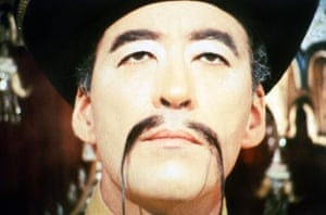 Christopher Lee stars in The Castle of Fu Manchu, 1969