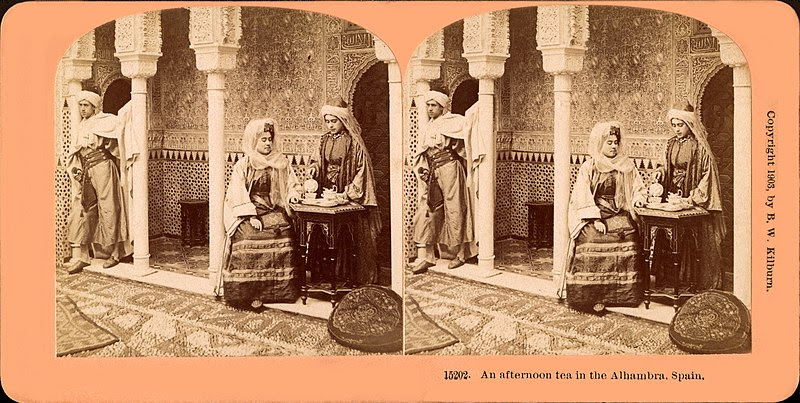 File:An afternoon tea in the Alhambra, Spain 1903.jpg