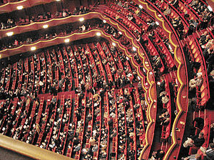 Metropolitan Opera (Lincoln Center), auditoriu...