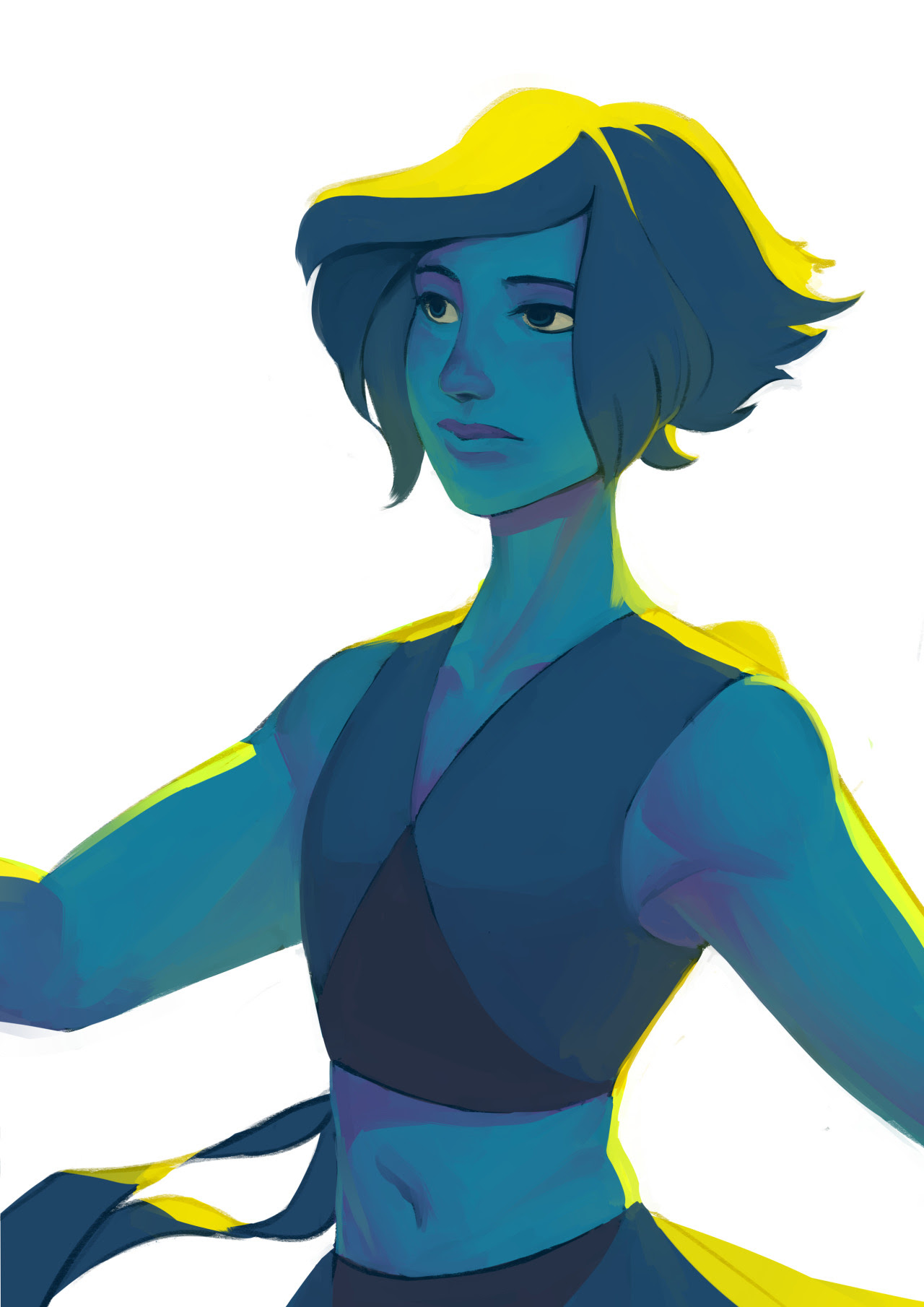 I've been feeling very Lapis lately