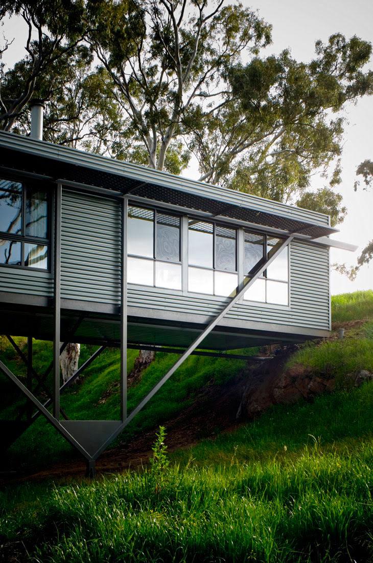Bridge-House, Architecture, Design, House, Interiors