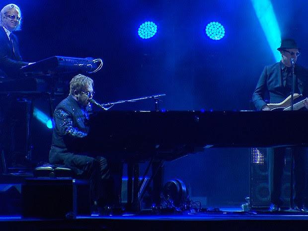 Elton John (Foto: Reprodução / TV Bahia)