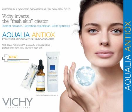 Vichy Aqualia Antiox Line
