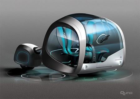 Quno : Future Mobility Concept For The Modularized Residential ...