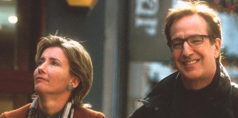 Alan Rickman Emma Thompson Love Actually Scene