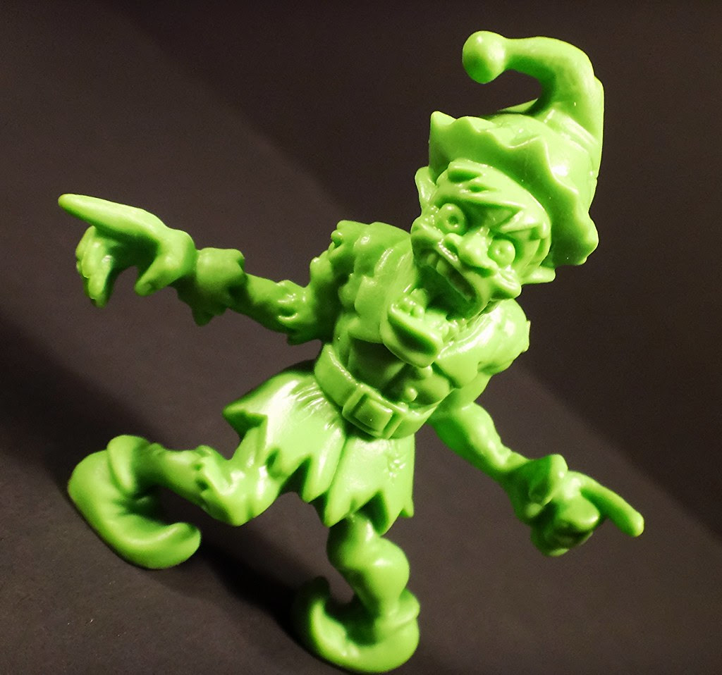 SLUG Zombie jakks pacific holiday christmas undead elf