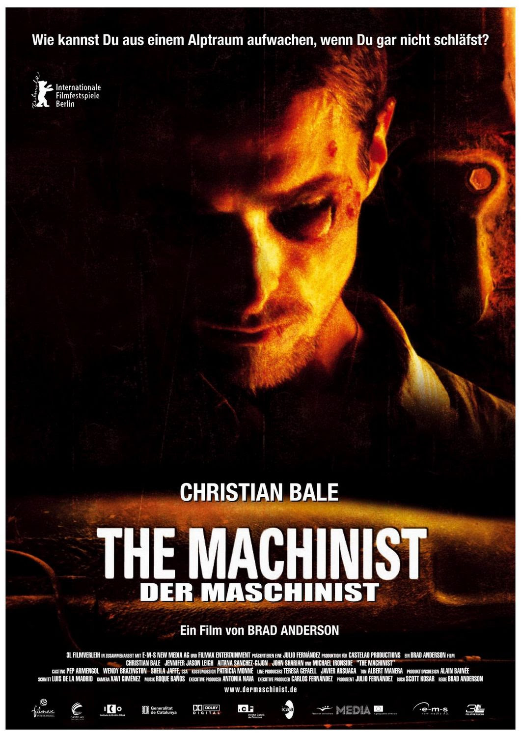 Extra Large Movie Poster Image for The Machinist