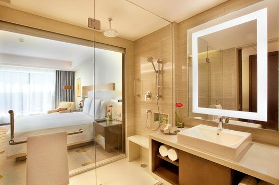Courtyard by Marriott, Bhopal - Deluxe Room and Bathroom - Picture ...