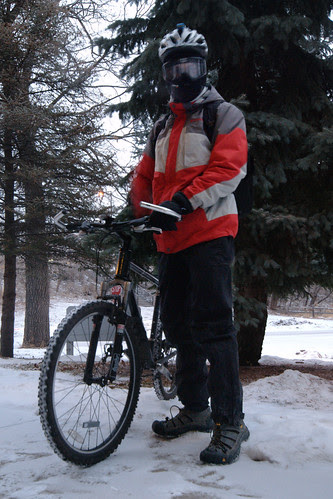 Winter Biking by dcclark