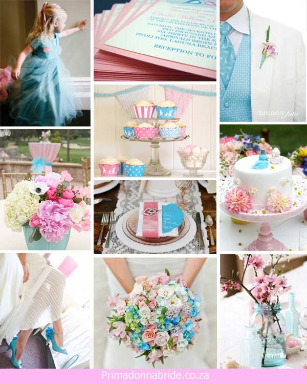 Wedding Ideas Light Pink And Light Blue