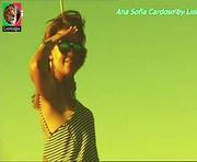 Ana Sofia Cardoso sensual a apresentar a sua terra