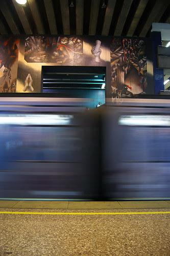 Metro de Santiago by Alejandro Bonilla