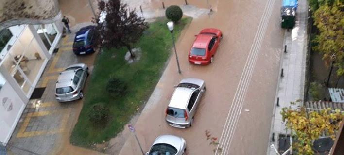 Σοβαρά προβλήματα στο Αγρίνιο από την κακοκαιρία (Φωτογραφία: agriniopress)
