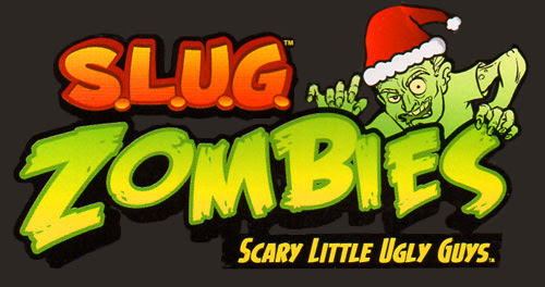 SLUG Zombie logo holiday christmas jakks pacific