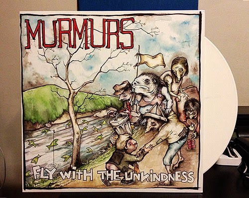 Murmurs - Fly With The Unkindness LP - White Vinyl (/100) by Tim PopKid