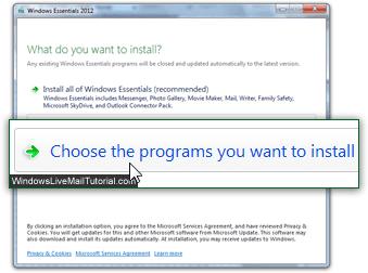 Download Windows Live Mail 2012
