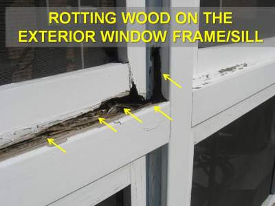 Diy Slate Roof How To Repair Rotted Window Frame