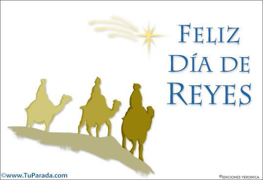 Feliz du00eda de reyes, Du00eda de Reyes, tarjetas