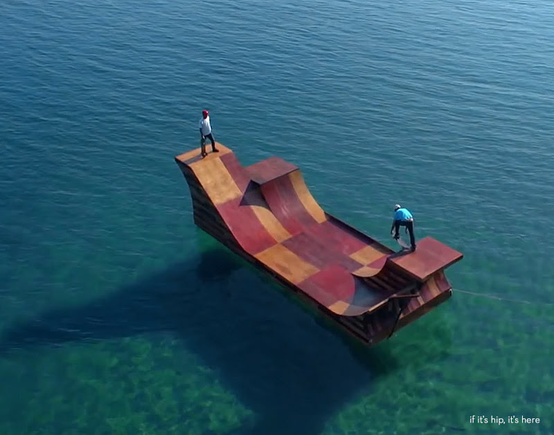 floating skate ramp hero IIHIH