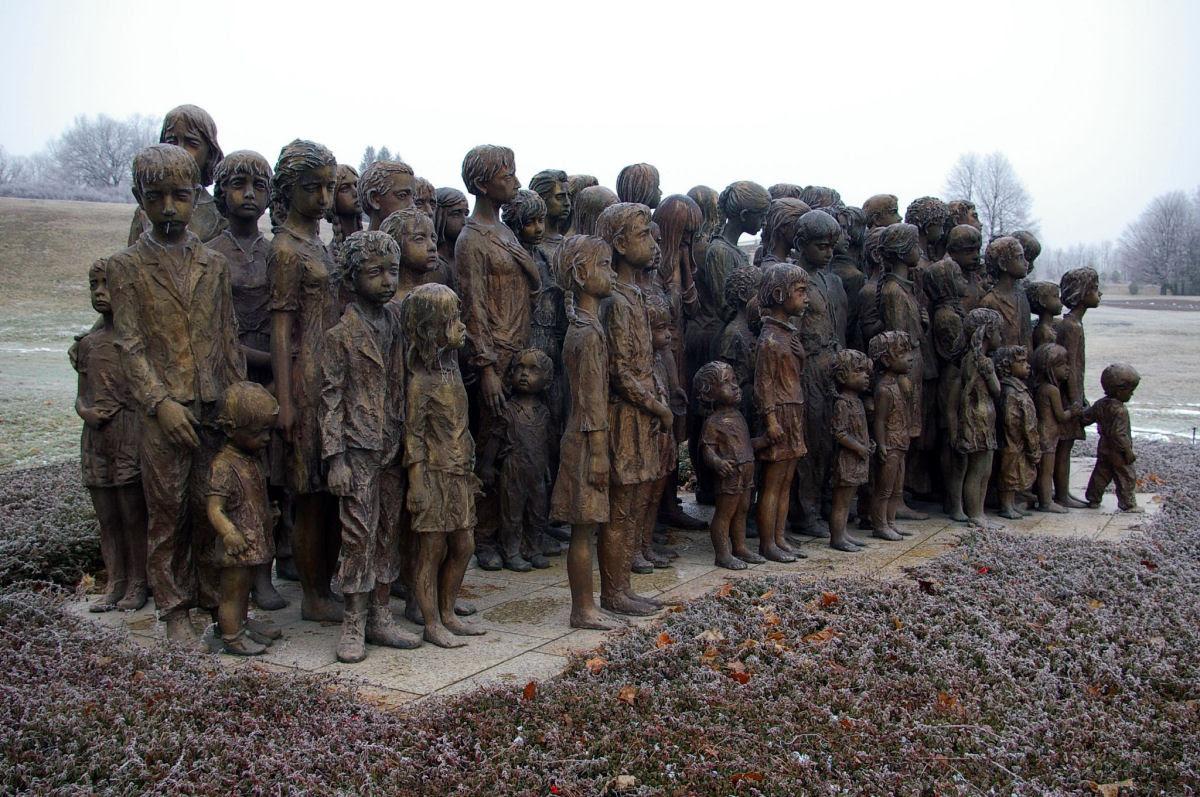 Memorial das Crianças Vítimas de Guerra em Lidice 08
