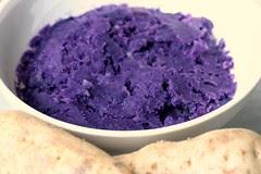 fresh ube (aka purple yam)