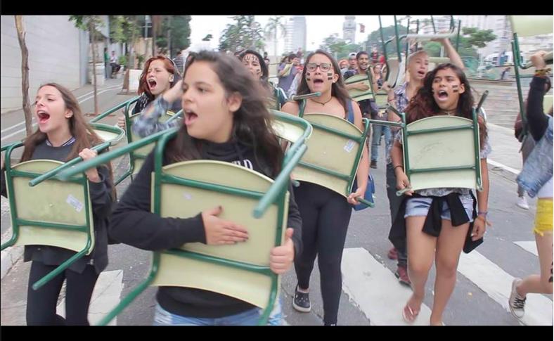 Resultado de imagem para estudantes agredidos ocupações