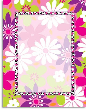 Stationery Notecards Letterhead Stationery Papers Floral Wild