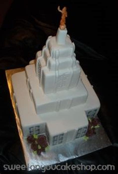 1000  images about Temple Cakes on Pinterest   Lds temples