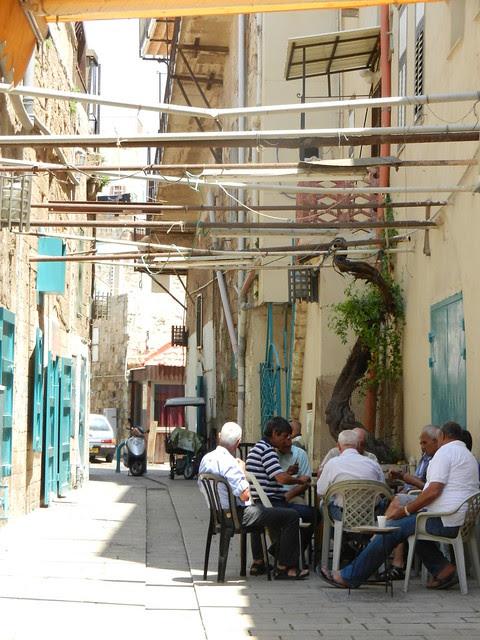 Акко. Израиль. жители