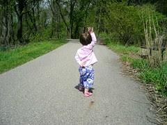 Walking at Fenner Nature Center