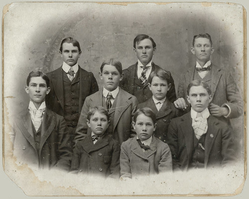 Nine boys