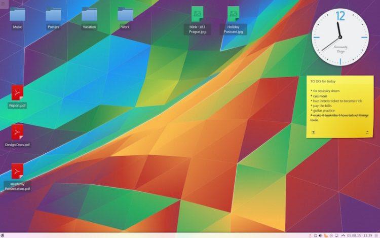 new plasma desktop