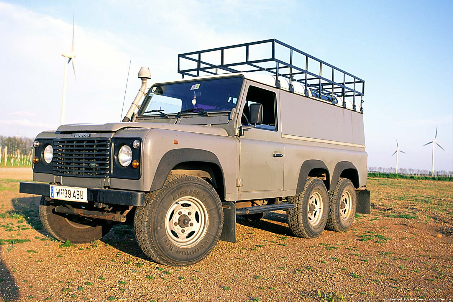 Land Rover Defender 6x6 Specs