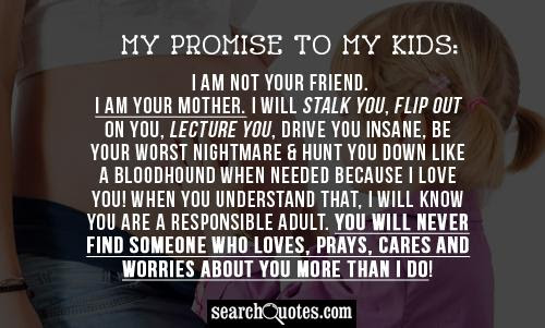 My Promise To My Parents Quotes Quotations Sayings 2019