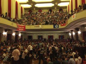 Juristas fazem ato pela legalidade e democracia no Centro de SP