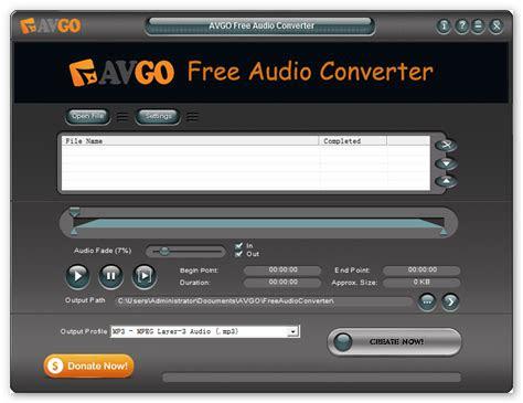 audio converter avgo    audio converter
