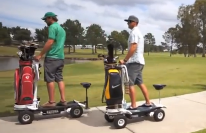 Whoever Thought to Combine an Electric Skateboard and Golf Cart Is a Genius  Complex