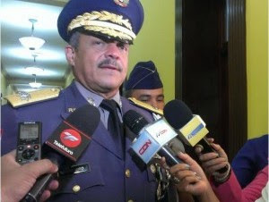 Mayor general Nelson Peguero Paredes, jefe de la Policía Nacional.
