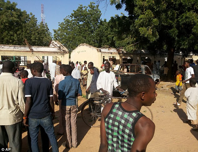 Bomb: At least 48 teenagers died, and 79 were injured, after a suicide bomber dressed in school uniform detonated during morning assembly at a secondary school in Yobe state in northern Nigeria