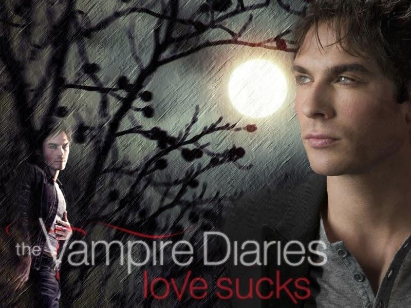 vampire diaries wallpaper damon and. The Vampire Diaries - Damon 2