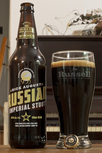 Rick August's Russian Imperial Stout (Russell Brewing) 13/24 by Cody La Bière