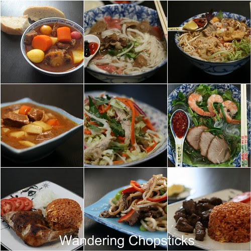 Wandering Chopsticks Top 9 Recipes of 2009