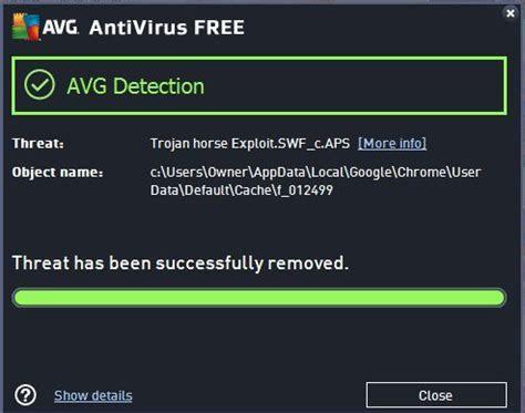 avg update  fix false trojan warning
