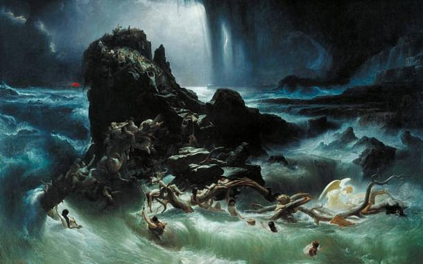'The Deluge' by Francis Danby, 1840.