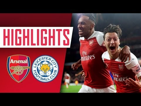 GOALS & HIGHLIGHTS | Arsenal 3 - 1 Leicester City