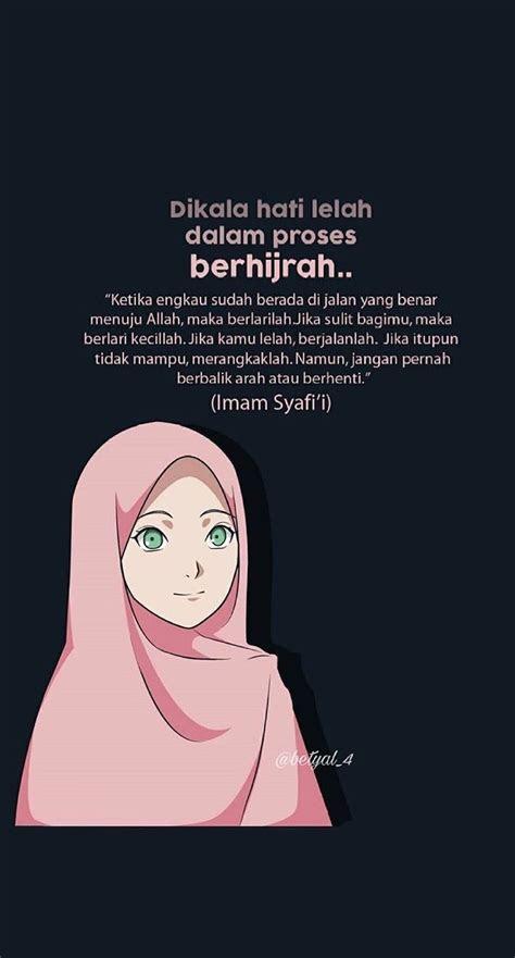 quotes muslim hijrah kata kata mutiara