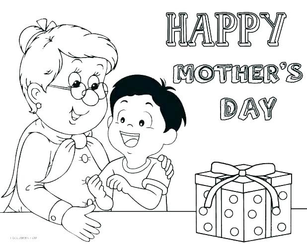 Happy Mothers Day Grandma Coloring Pages at GetColorings ...